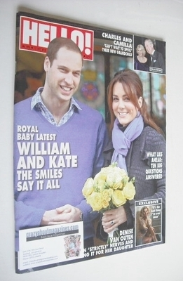 <!--2012-12-17-->Hello! magazine - Prince William and Kate Middleton cover