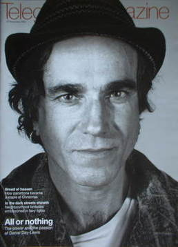 <!--2007-12-08-->Telegraph magazine - Daniel Day-Lewis cover (8 December 20