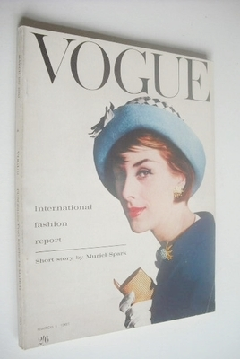 <!--1961-03-01-->British Vogue magazine - 1 March 1961 (Vintage Issue)