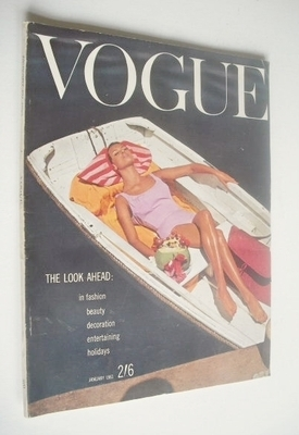 <!--1961-01-01-->British Vogue magazine - 1 January 1961 (Vintage Issue)