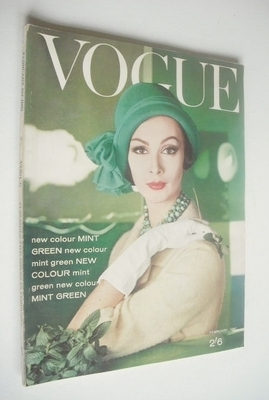 <!--1961-02-->British Vogue magazine - 1 February 1961 (Vintage Issue)