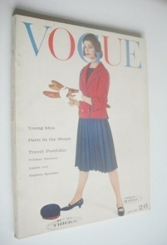 British Vogue magazine - April 1961 (Vintage Issue)