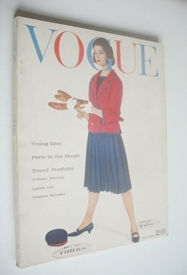 <!--1961-04-->British Vogue magazine - April 1961 (Vintage Issue)