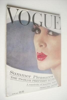 <!--1961-06-01-->British Vogue magazine - 1 June 1961 (Vintage Issue)