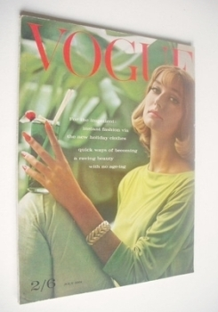 British Vogue magazine - 1 July 1961 (Vintage Issue)