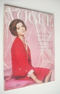<!--1961-08-01-->British Vogue magazine - 1 August 1961 (Vintage Issue)