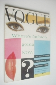 British Vogue magazine - 1 September 1961 (Vintage Issue)