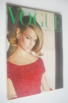 British Vogue magazine - 1 December 1961 (Vintage Issue)