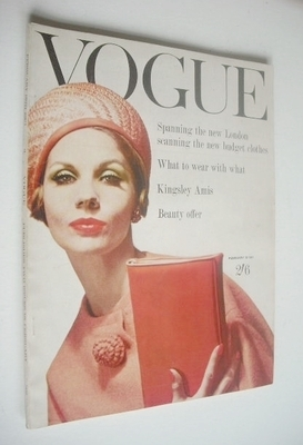 <!--1961-02-15-->British Vogue magazine - 15 February 1961 (Vintage Issue)