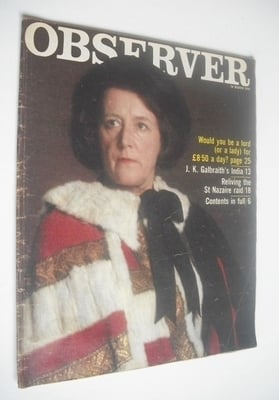 <!--1974-03-24-->The Observer magazine - A Lady For A Day cover (24 March 1