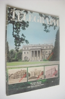 The Daily Telegraph magazine - Country Houses cover (11 October 1974)