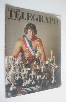 <!--1973-01-19-->The Daily Telegraph magazine - Paul Grant cover (19 Januar