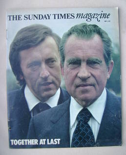 <!--1977-05-01-->The Sunday Times magazine - Richard Nixon and David Frost