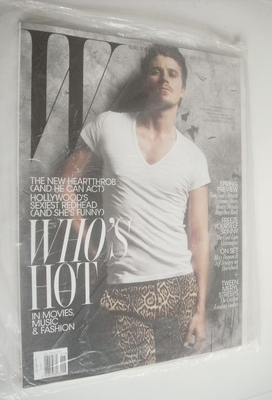 <!--2011-01-->W magazine - January 2011 - Garrett Hedlund magazine