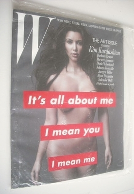 <!--2010-11-->W magazine - November 2010 - Kim Kardashian cover