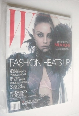 <!--2011-03-->W magazine - March 2011 - Mila Kunis cover