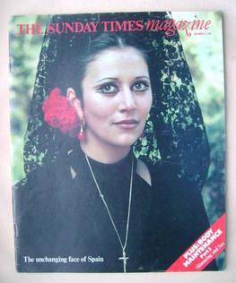 <!--1976-10-17-->The Sunday Times magazine - 17 October 1976