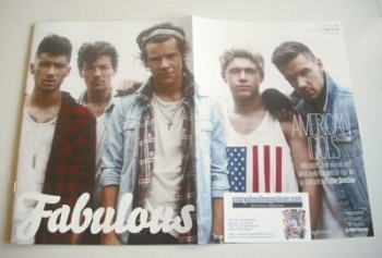 Fabulous magazine - One Direction cover (18 August 2013 - Cover 1)