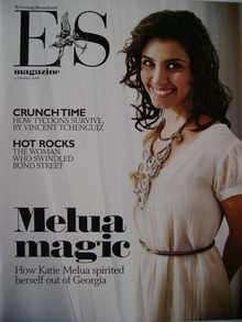<!--2008-10-31-->Evening Standard magazine - Katie Melua cover (31 October