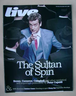 Live magazine - Peter Capaldi cover (3 May 2009)