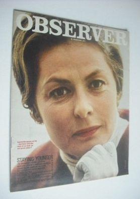 <!--1971-02-21-->The Observer magazine - Ingrid Bergman cover (21 February