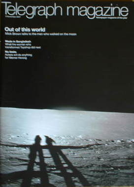 <!--2007-11-03-->Telegraph magazine - The Moon cover (3 November 2007)