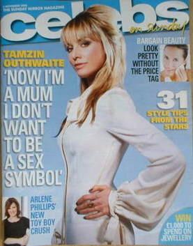 <!--2008-11-02-->Celebs magazine - Tamzin Outhwaite cover (2 November 2008)