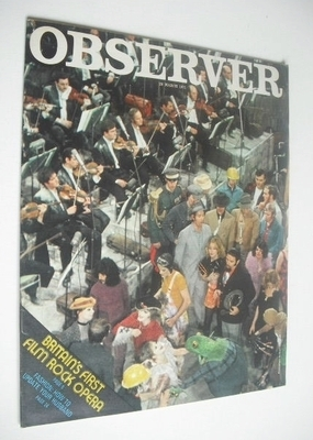 <!--1971-03-28-->The Observer magazine - Britain's First Film Rock Opera (2