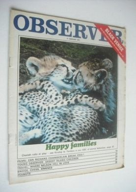 <!--1971-01-17-->The Observer magazine - Happy Families cover (17 January 1