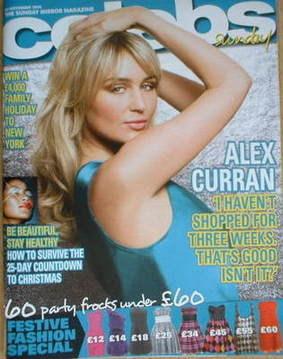 <!--2008-11-30-->Celebs magazine - Alex Curran cover (30 November 2008)