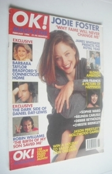 OK! magazine - Jodie Foster cover (February 1994)