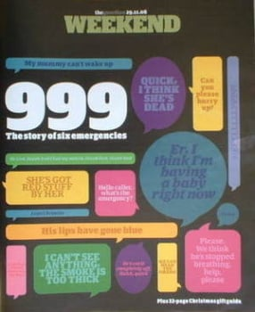 The Guardian Weekend magazine - 29 November 2008