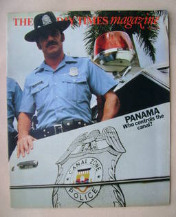 <!--1975-08-24-->The Sunday Times magazine - Panama cover (24 August 1975)