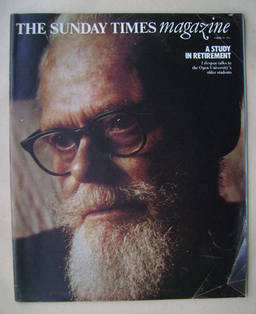<!--1976-03-14-->The Sunday Times magazine - Ernest Leaver cover (14 March