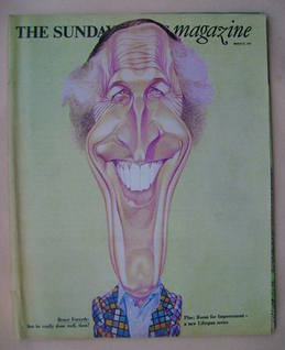 <!--1977-03-27-->The Sunday Times magazine - Bruce Forsyth cover (27 March
