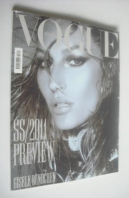 <!--2010-12-->Vogue Italia magazine - December 2010 - Gisele Bundchen cover