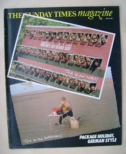 <!--1977-07-24-->The Sunday Times magazine - Package Holiday cover (24 July