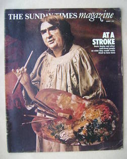 <!--1977-08-07-->The Sunday Times magazine - At A Stroke cover (7 August 19