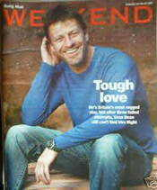 Weekend magazine - Sean Bean cover