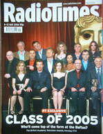 <!--2006-05-06-->Radio Times magazine - BAFTA TV Cover (6-12 May 2006)
