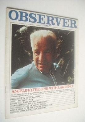 <!--1970-12-13-->The Observer magazine - Colonel Angelino Ravagli cover (13
