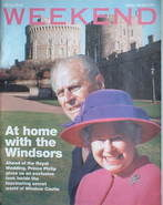 <!--2005-03-19-->Weekend magazine - The Queen & Prince Philip cover (19 Mar