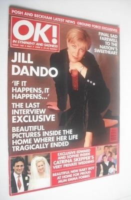 <!--1999-05-07-->OK! magazine - Jill Dando cover (7 May 1999 - Issue 160)