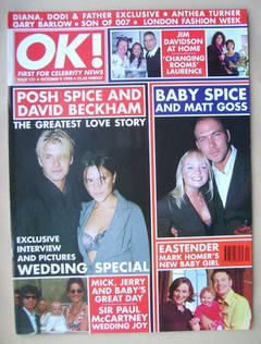 <!--1998-10-09-->OK! magazine (9 October 1998 - Issue 131)