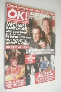 OK! magazine - Michael Barrymore cover (29 December 1999 - Issue 193)