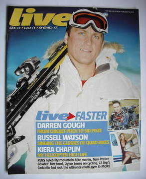 <!--2006-02-19-->Live magazine - Darren Gough cover (19 February 2006)