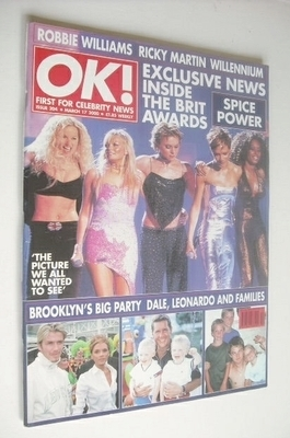 <!--2000-03-17-->OK! magazine - The Spice Girls cover (17 March 2000 - Issu