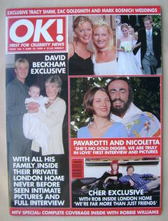 <!--1999-06-18-->OK! magazine (18 June 1999 - Issue 166)
