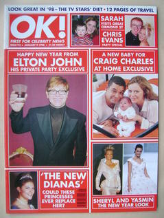 <!--1998-01-09-->OK! magazine (9 January 1998 - Issue 92)