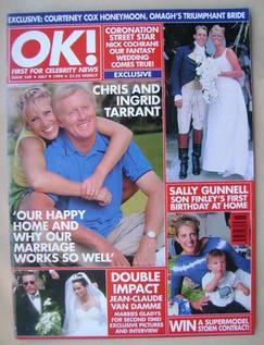 <!--1999-07-09-->OK! magazine - Chris Tarrant and Ingrid Tarrant cover (9 J
